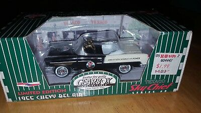 1997 gearbox limited edition Texaco sky chief black 1955 Chevy Belair pedal car