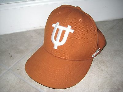 san francisco 3d553 b8fef Nike TEXAS LONGHORNS UT Austin Vintage Logo Fitted Dad Hat Cap USED Sz 7 5
