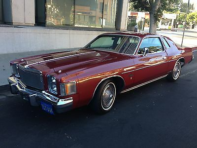 1978 Chrysler Cordoba Coupe Great condition, daily driver