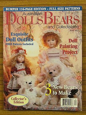 Australian Dolls, Bears & Collectables - Volume 6 No.5 1999