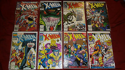 Lot of 32 The Uncanny X-Men Comics - mixed lot 211-308 • $32.75