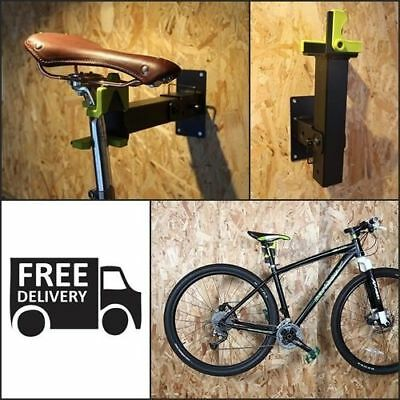 Bicycle Repair Stand Bench Mount Bike Rack Rotating Head Adjusts Clamp NEW