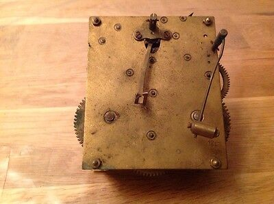 Antique Chiming Clock Movement For Repair Spare Parts