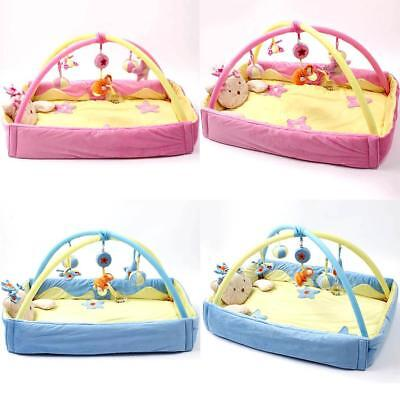 Baby Kid Gym Play Mat Soft Pad Activity Cotton Fun Toy Bed Walking Learning