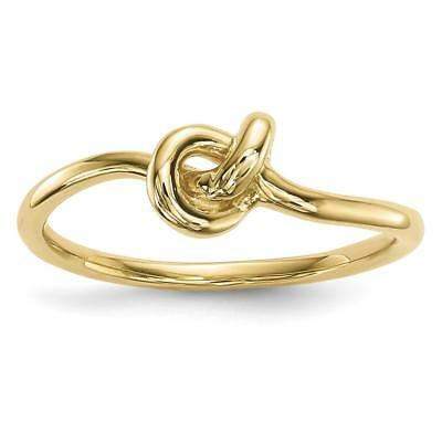 14k Yellow Gold Polished Knot Ring Size 7 R618