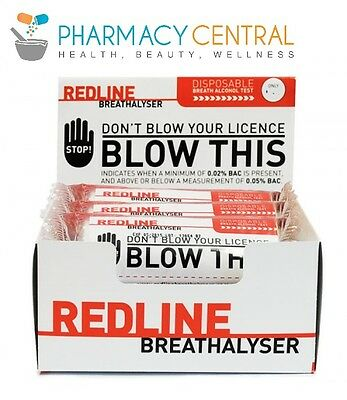 Redline Breathalyser - Disposable