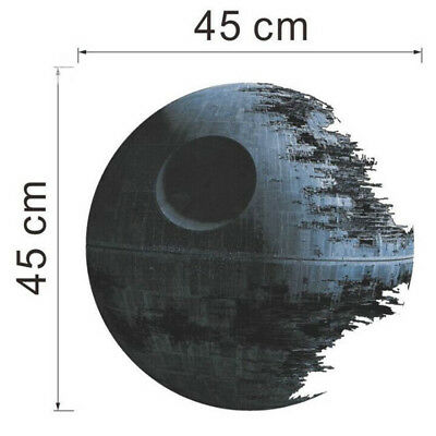 Death Star Wars Removable Wall Stickers Kids Room Decal Home Decor Mural Art Hot