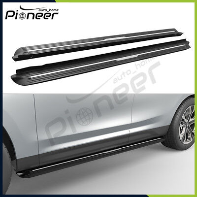 Fits Jaguar F-Pace F Pace 2016-2018 Aluminium Side Step Nerf Bar Running Boards