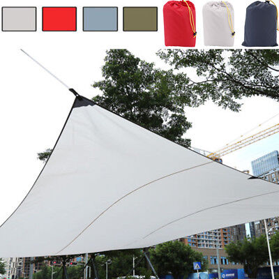 Foldable Sun Shade Sail Garden Patio Shelter Awning Canopy Roof Waterproof New