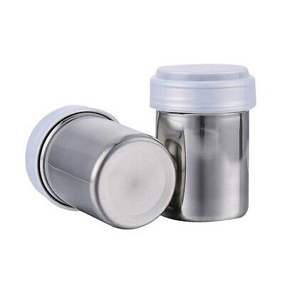 Stainless Steel Chocolate Flour Shaker Icing Sugar Powder Coffee Duster