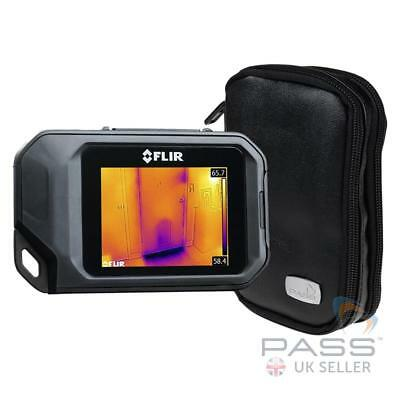 NEW FLIR Systems C2 Pocket Thermal Camera with Accessories + FREE Carry Case /UK