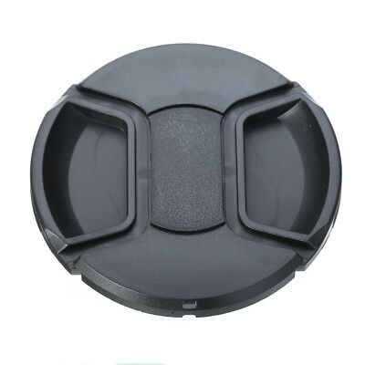 77mm Camera Front Lens Hood Cap Cover Center Pinch Snap-On For Canon Nikon Sony