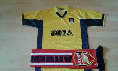 Vintage Arsenal London Trikot + Fanschal