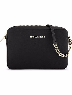 MICHAEL MICHAEL KORS Jet Set Saffiano Leather Cross-Body Bag (BUY IT NOW!!!)