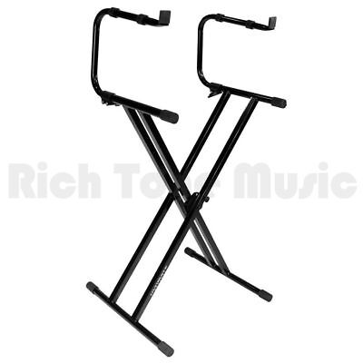 Ultimate Support Keyboard Stands IQ-2200 Black Double Braced