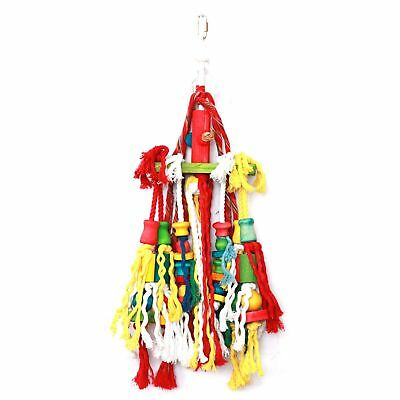 Happy Pet Products Rope N Tumble Parrot Toy