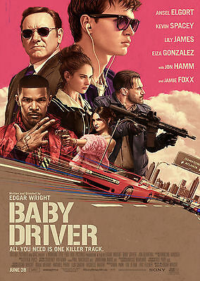 Baby Driver (2017) - A2 POSTER ***LATEST BUY 1 GET 1 FREE OFFER***