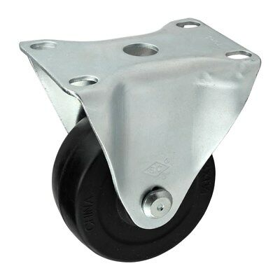 """80/20 Inc 10, 15 Series 3"""" Rubber Flanged Mount Swivel Caster Part #2311 N"""
