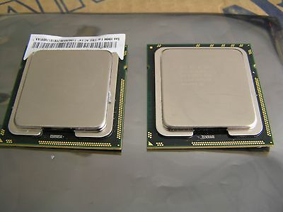 Matched Pair Intel Quad Core Xeon 2.93Ghz X5570 Cpu Processor Slbf3 8Mb Cache