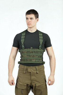 TECHINKOM Chest Rig Platform 4 on 8 Molle EMR Digital Flora Russian Original