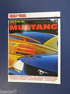 1994 Road & Track Special Series Guide To The Ford Mustang C7926