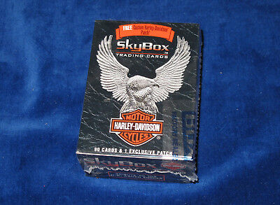 1994 Skybox Harley Davidson Complete Factory set of 90 cards E1705