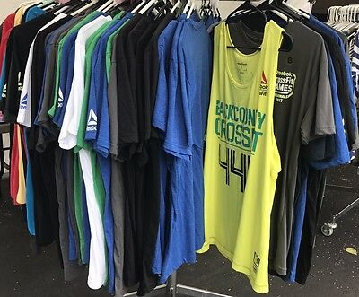 Reebok Crossfit Shirts Wholesale Lot Fraser Games Regionals All Sizes (A)