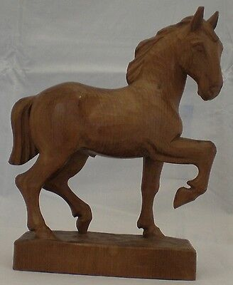 Black Forest Wood Carving of a Horse