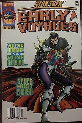 Star Trek Early Voyagers Marvel Comic #6 July 1997