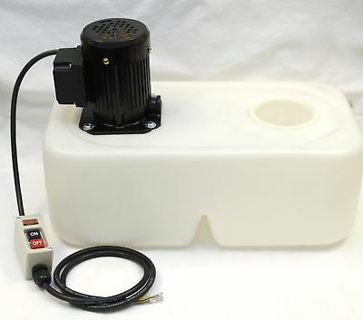 1/8 HP 3-Phase Coolant Pump with Tank and Nozzle Assembly, 220V, SP-OP-17L-W