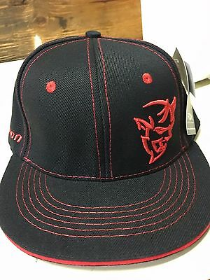 New Black And Red Dodge Demon Hat!!