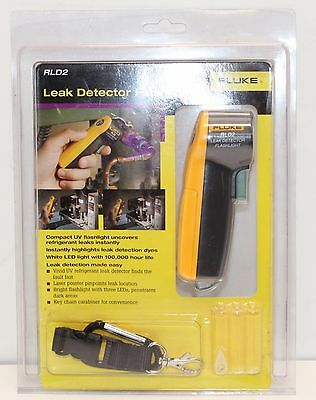 NEW Fluke RLD2 HVAC/R Leak Detector Flashlight by Fluke