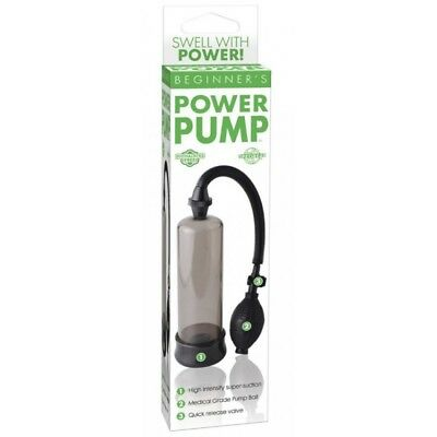 Developpeur de penis Beginner's Power Pump Noir
