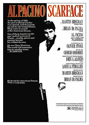 Scarface (1983) - A2 POSTER ***LATEST BUY 1 GET 1 FREE OFFER***