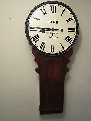 A very rare Georgian period tavern or so called act of parliament clock