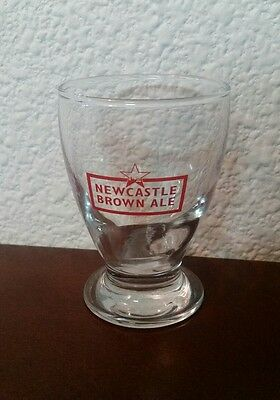 4 oz New Castle Brown Ale Tasting Glass Barware Brewery Beer Ounce