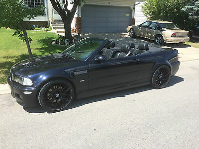 BMW: M3 CI 01 M3 Convertible-90K kms-Blue on Black leather, New rims and Tires