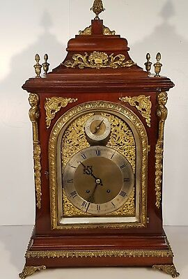 Large Boardroom 4 bells musical Bracket Clock