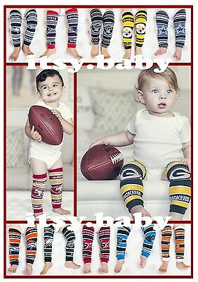 NFL Baby Leggings 15 teams--you choose! 1 pair of Officially Licensed Legwarmers