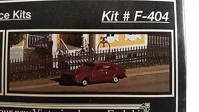 Z Miller-Eng-Micro-Struct. Etched Brass Kit # F-404 - Victorian Fence