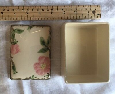 Desert Rose Franciscan Vintage China Box - Chipped - Made In California USA