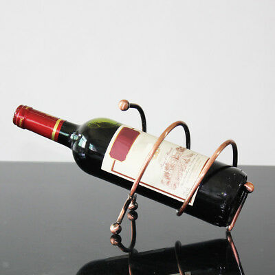 Kitchen European Fashion Simple Frame Red Wine Holder Wine Rack Table Stand