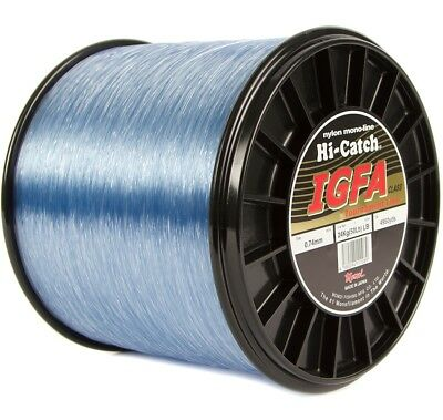 Momoi Hi-Catch IGFA 15kg to 37kg Mono Bulk Spools Blue