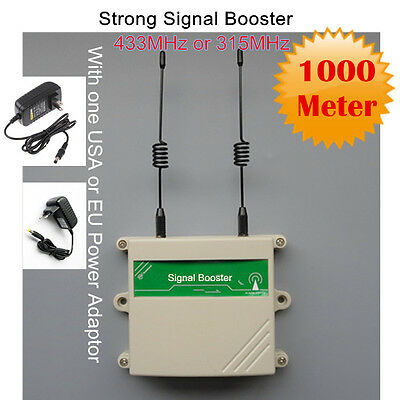 KERUI 433MHz PT2262 1527 Transmitter Wireless Repeater Signal Booster Extender