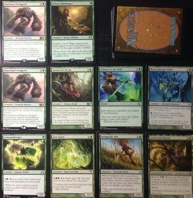 Instant TREEFOLK DECK! Ready To Play 60 Cards Mtg Green