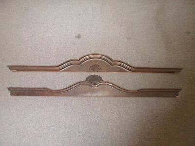 Beautiful, antique, solid wood door headers. Architectural Salvage!! 2 styles!