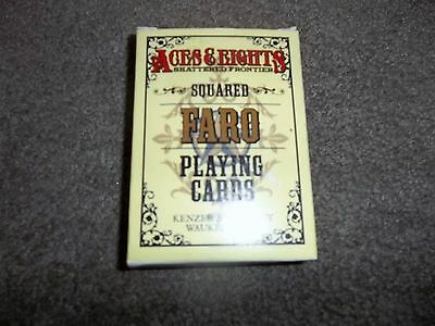 Aces & Eights Shattered Frontier RPG  Squared Faro Playing Cards