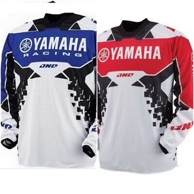 Motocross Jersey YAMAHA Xtreme Sports Off Road Clothing Quick Dry Function Racin