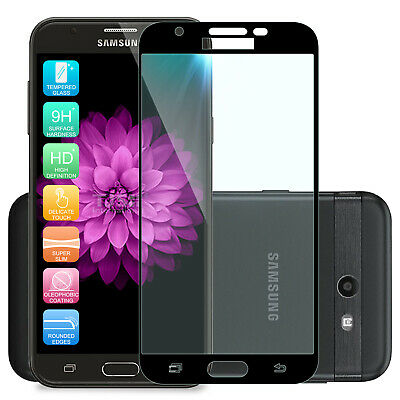 For Samsung Galaxy J7 2017 Full Screen Coverage Tempered Glass Screen Protector