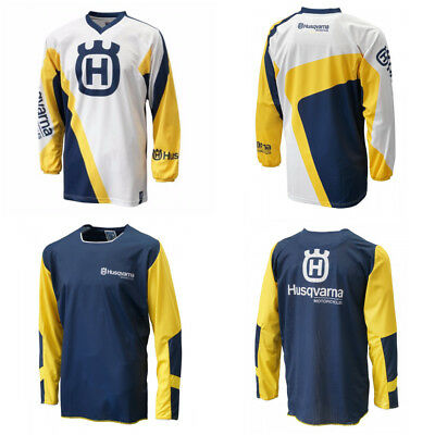Motocross Jersey Husqvarna  Xtreme Sports Off Road Clothing Quick Dry Function